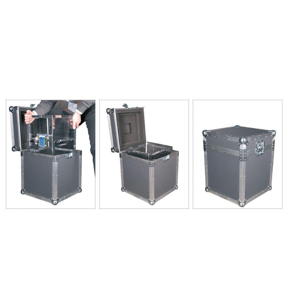 Acryl V100 TC valigetta di trasporto per casseforti in vetro acrilico